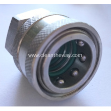 Pressure Washer Stainless Steel Quick Release Coupling 3 O.Ring 3/8 Female BSP